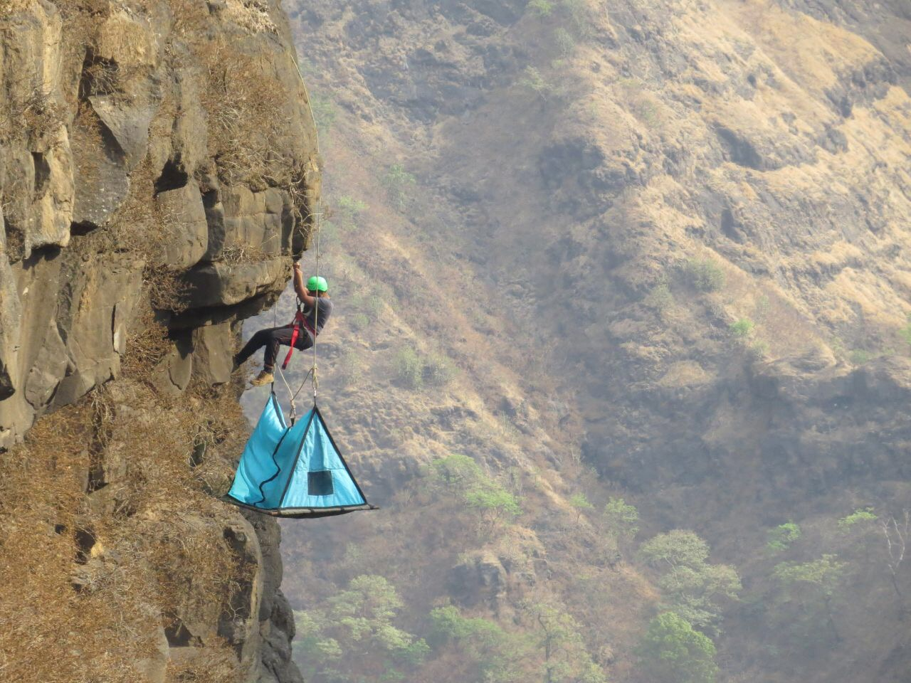 How does cliff c&ing work? & Sandhan Valley Hanging Tents Camp u2013 Phoenix Expeditions